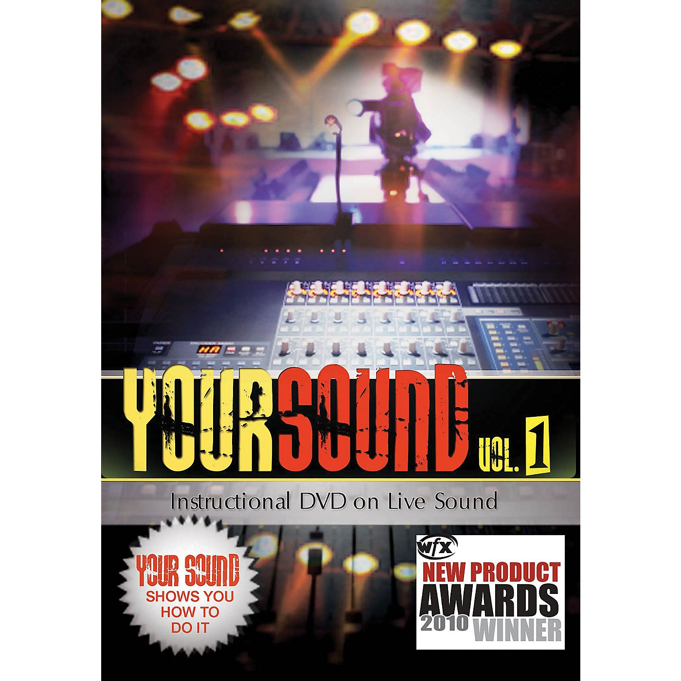 Hal Leonard Your Sound Vol.1 Instructional DVD On Live Sound thumbnail