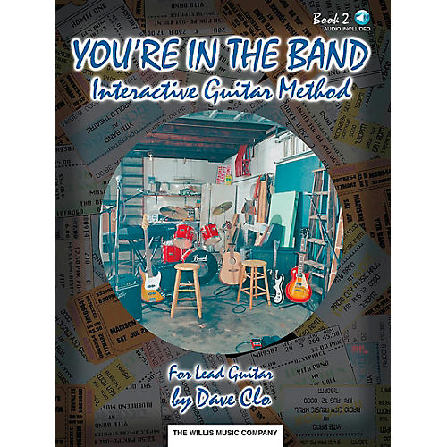 Willis Music You're In The Band Interactive Guitar Method Book 2 for Lead Guitar Book/CD thumbnail
