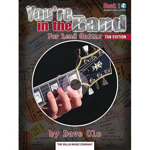 Willis Music You're In The Band Lead Guitar Book 1 Tab Edition Book/CD thumbnail