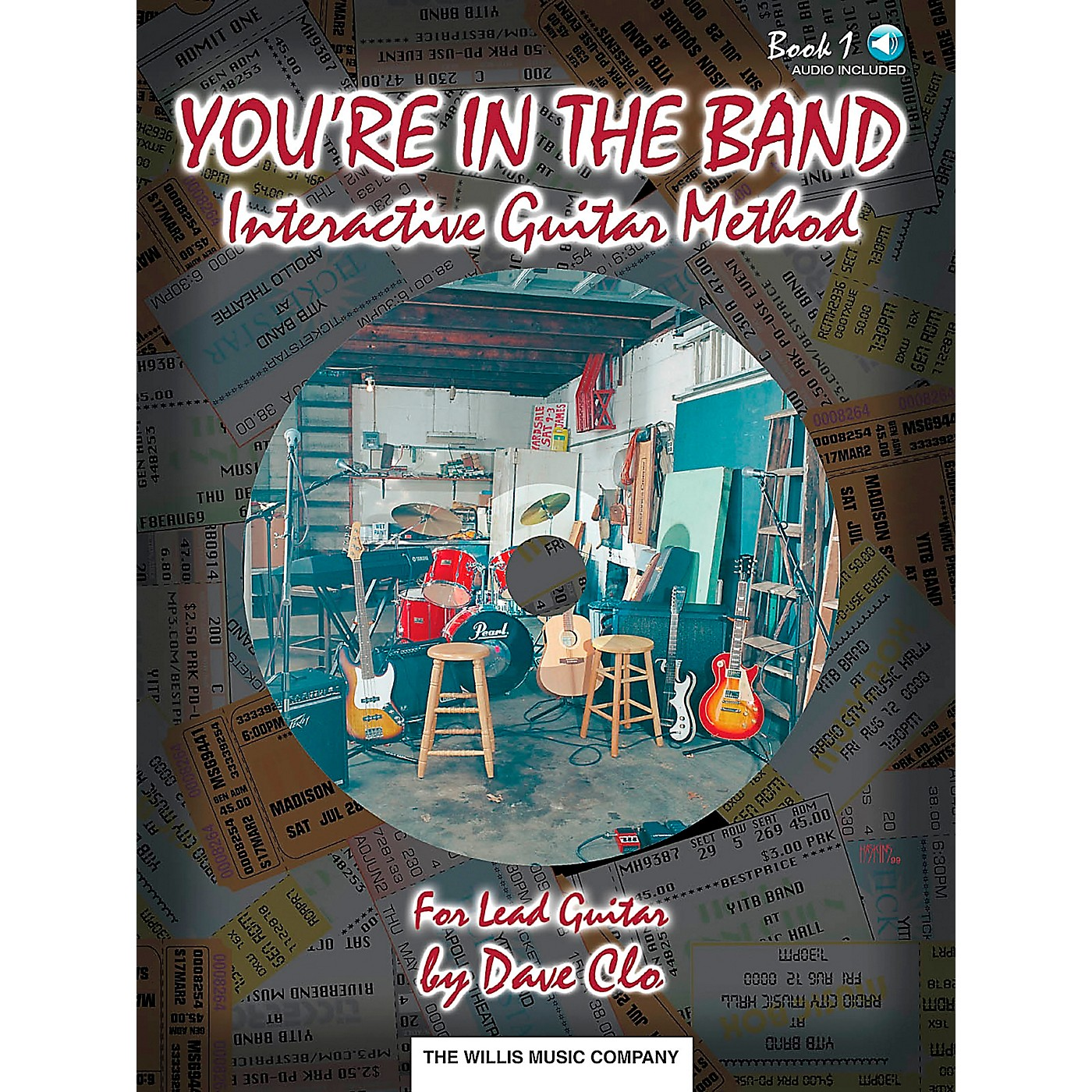 Willis Music You're In The Band Lead Guitar Method Book 1 Book/CD thumbnail