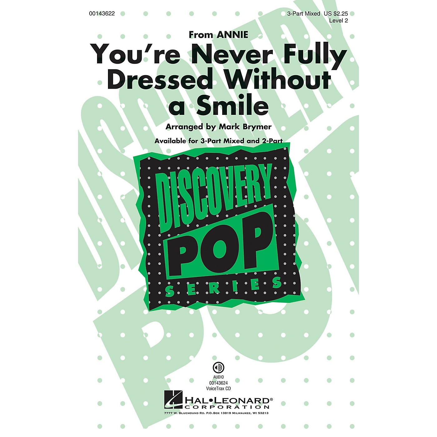 Hal Leonard You're Never Fully Dressed Without a Smile (from Annie Discovery Level 2) VoiceTrax CD by Mark Brymer thumbnail