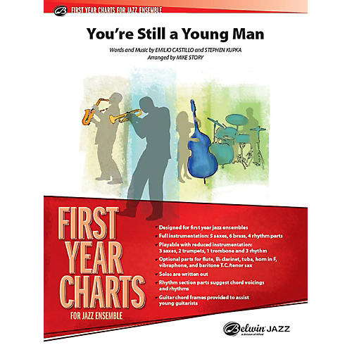 Alfred You're Still a Young Man Jazz Band Grade 1 Set thumbnail