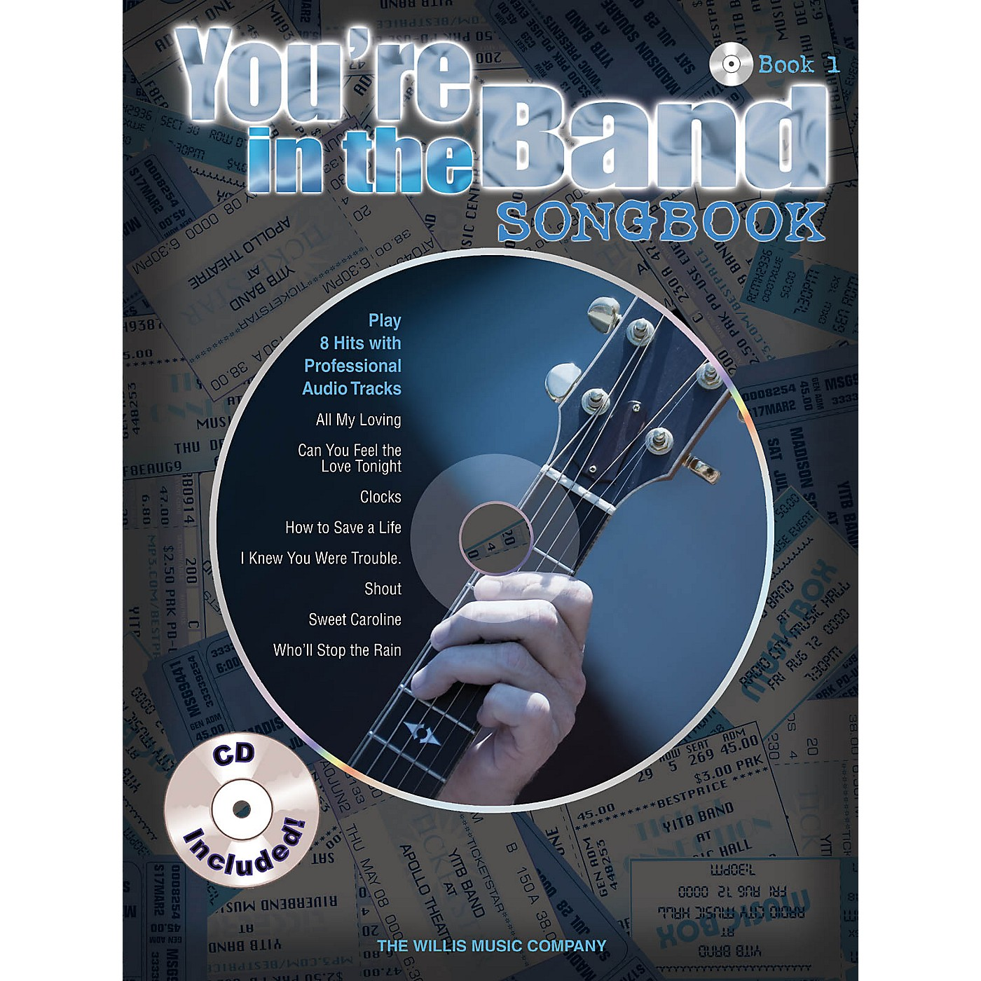 Willis Music You're in the Band - Songbook 1 Willis Series Softcover with CD thumbnail