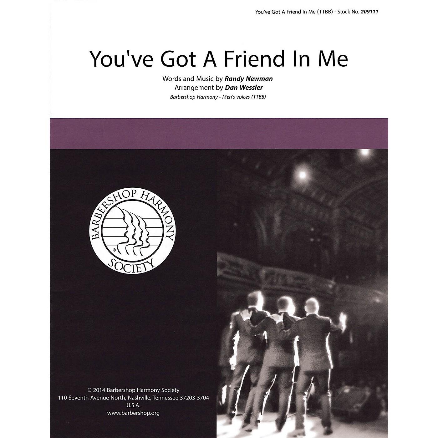 Hal Leonard You've Got a Friend in Me TTBB A Cappella arranged by Dan Wessler thumbnail