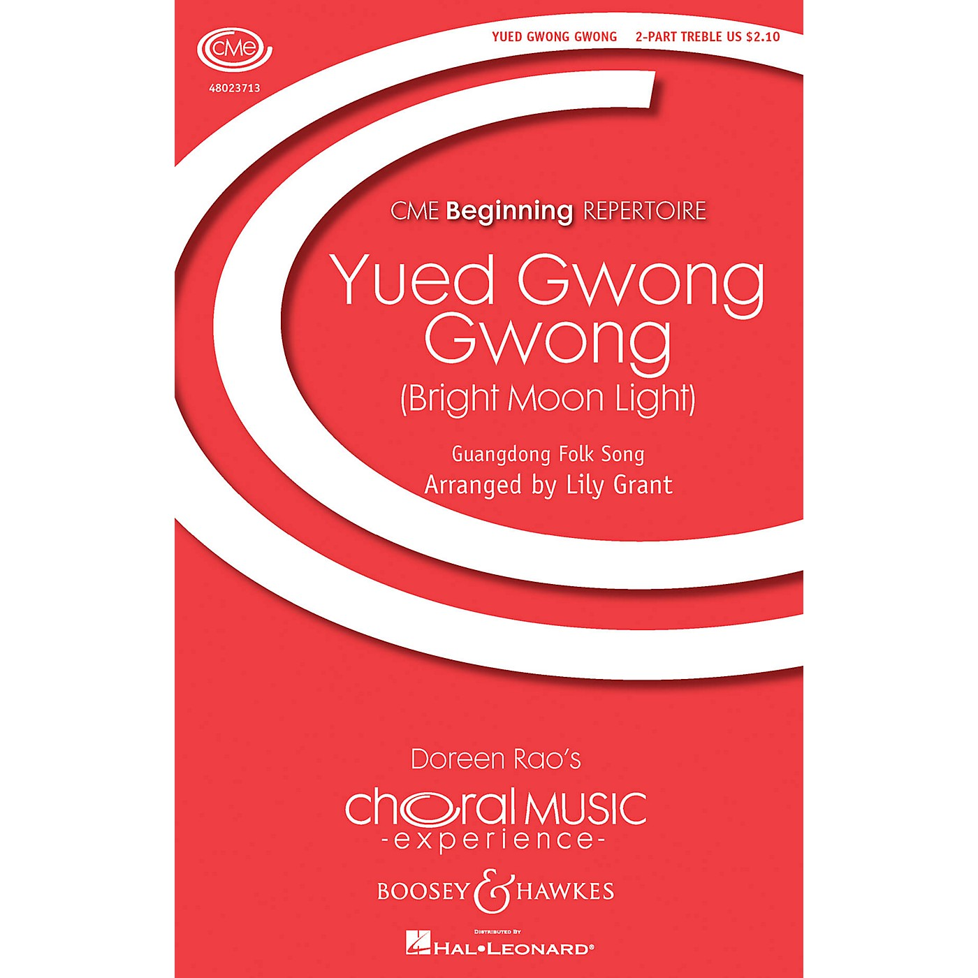 Boosey and Hawkes Yued Gwong Gwong (Bright Moon Light) (CME Beginning) SA composed by Lily Grant thumbnail