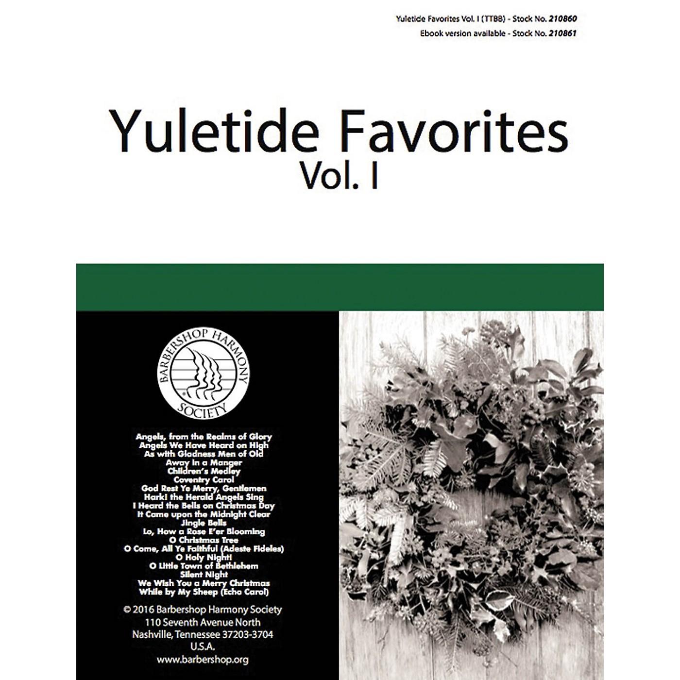 Barbershop Harmony Society Yuletide Favorites (Volume I) TTBB A Cappella arranged by Various thumbnail