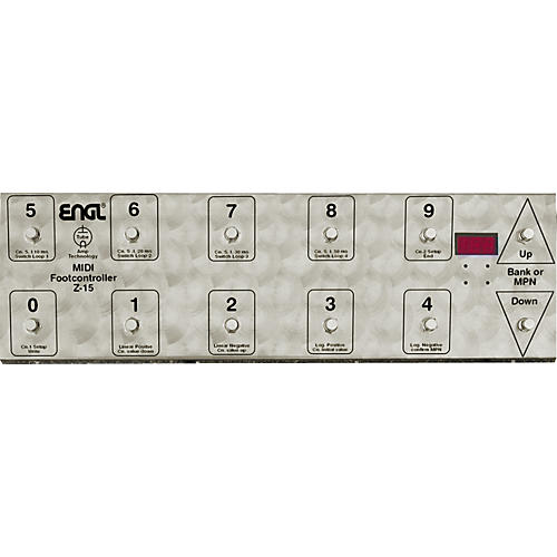 Engl Z-15 MIDI Footcontroller thumbnail