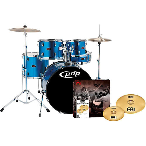 PDP by DW Z5 5-Piece Drumset with Meinl Cymbals thumbnail