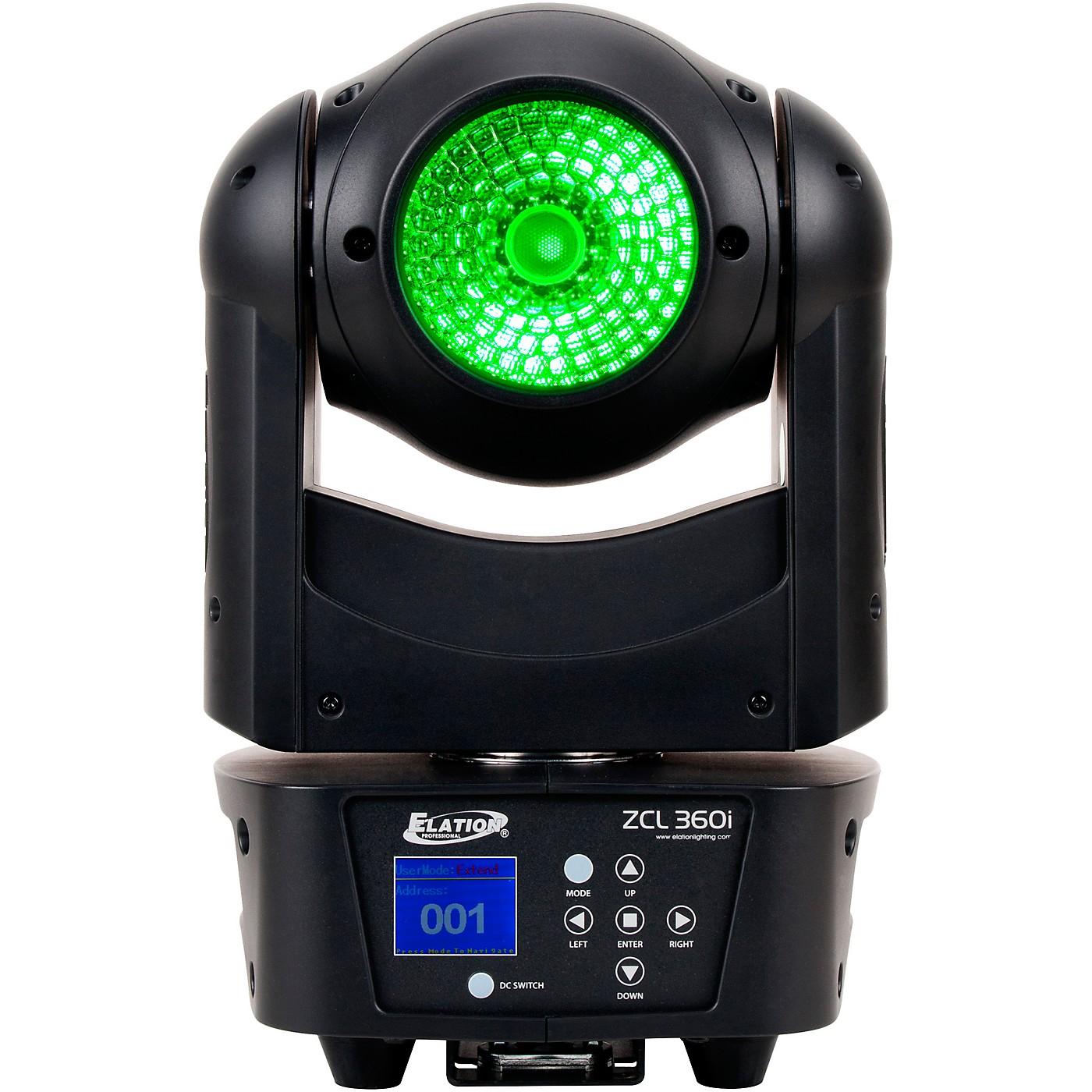 Elation ZCL 360i 90W RGBW LED Moving Head Beam/Wash Light thumbnail