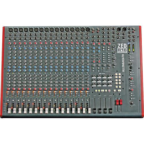 Allen & Heath ZED-R16 16-Channel FireWire Mixer thumbnail