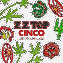 WEA ZZ Top  - Cinco:  The First Five LPs (5 LP 180 Gram Vinyl)