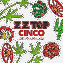 WEA ZZ Top  - Cinco:  The First Five LPs (5 LP 180 Gram Vinyl)