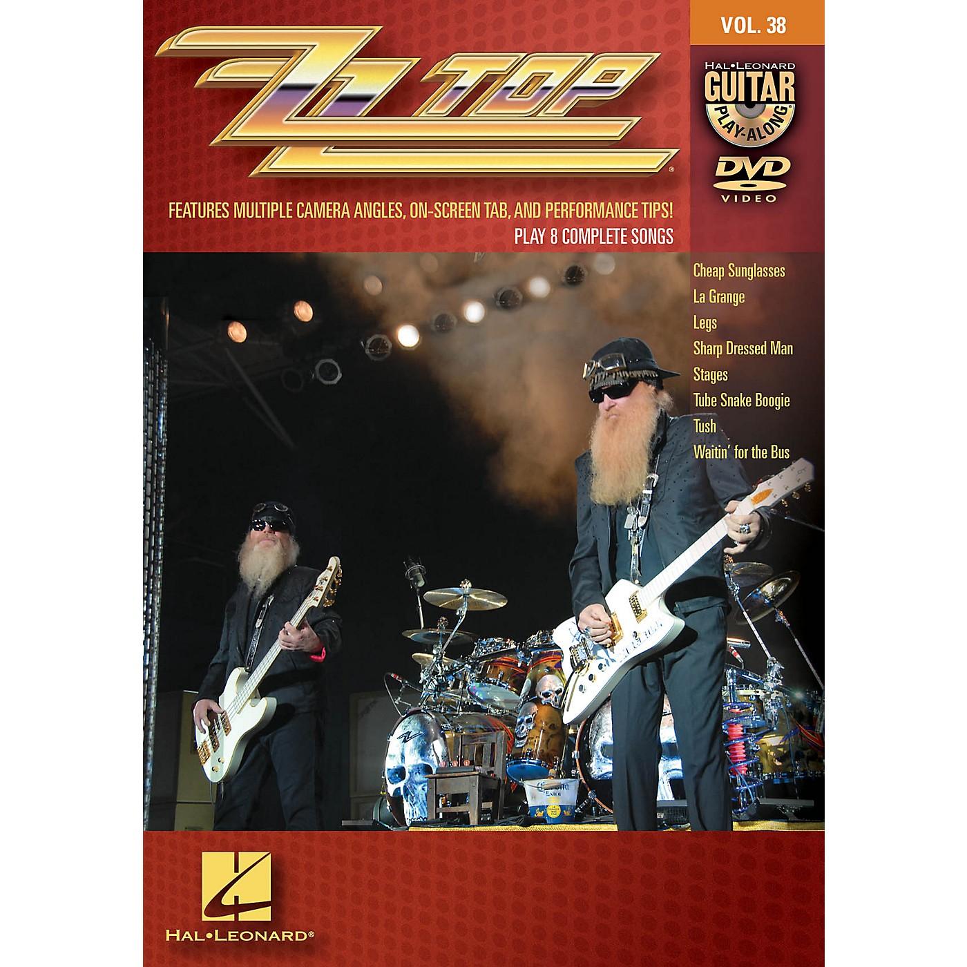 Hal Leonard ZZ Top - Guitar Play-Along DVD Volume 38 thumbnail