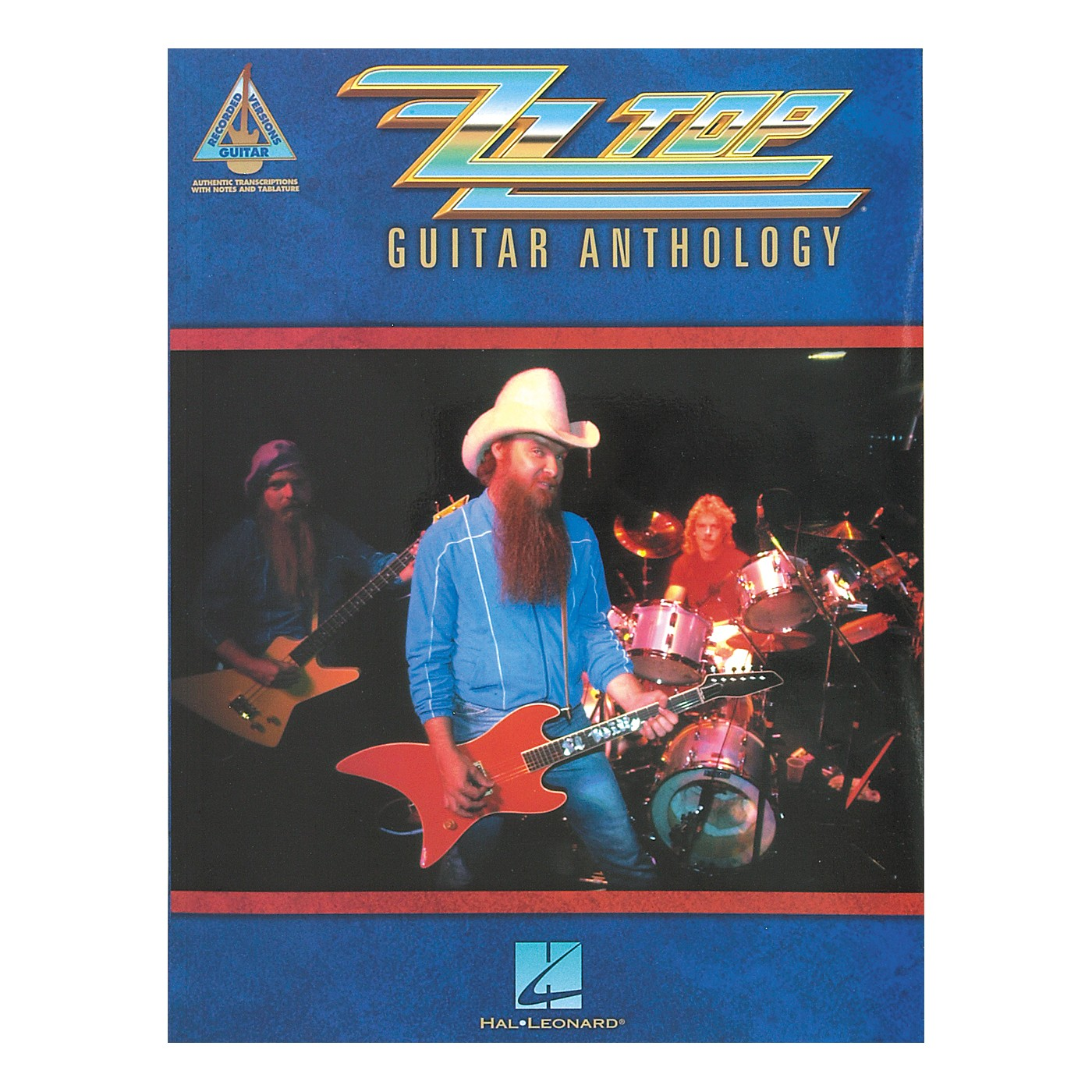 Hal Leonard ZZ Top Anthology Guitar Tab Songbook thumbnail