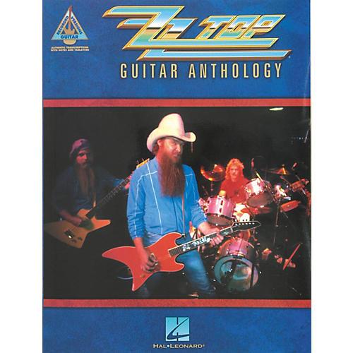 Hal Leonard ZZ Top Anthology Guitar Tab Songbook thumbnail