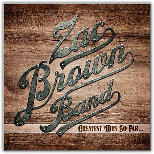 WEA Zac Brown Band - Greatest Hits So Far Vinyl LP thumbnail