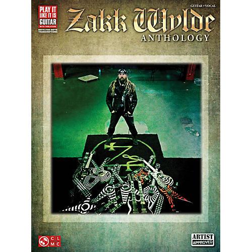 Cherry Lane Zakk Wylde Anthology Guitar Tab Songbook thumbnail