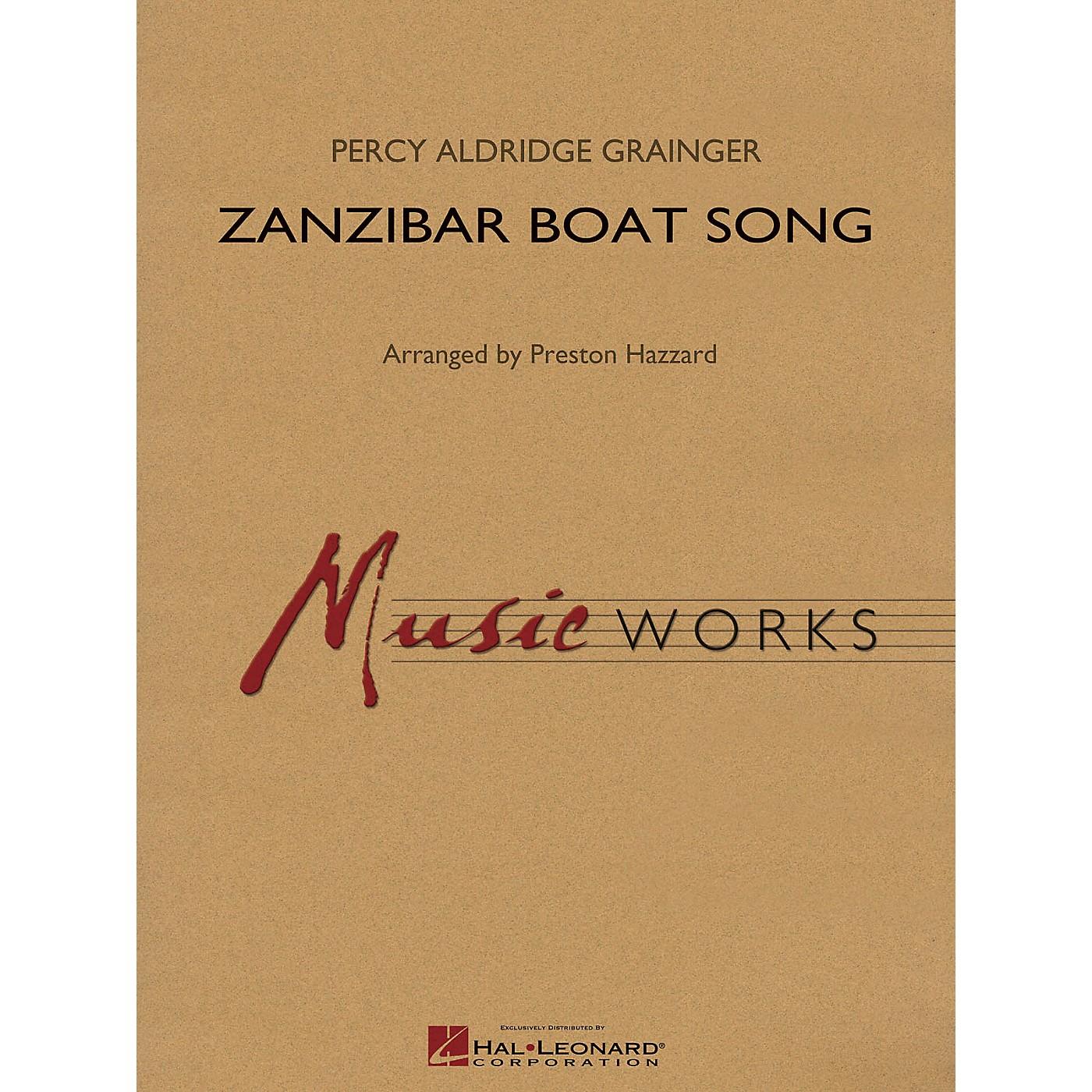 Hal Leonard Zanzibar Boat Song Concert Band Level 4 Arranged by Preston Hazzard thumbnail