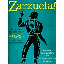 Music Sales Zarzuela! (Baritone) Music Sales America Series Composed by Various