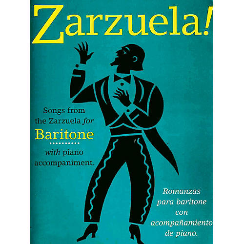 Music Sales Zarzuela! (Baritone) Music Sales America Series Composed by Various thumbnail