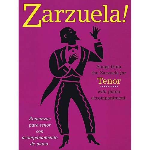 Music Sales Zarzuela! (Tenor) Music Sales America Series  by Various thumbnail