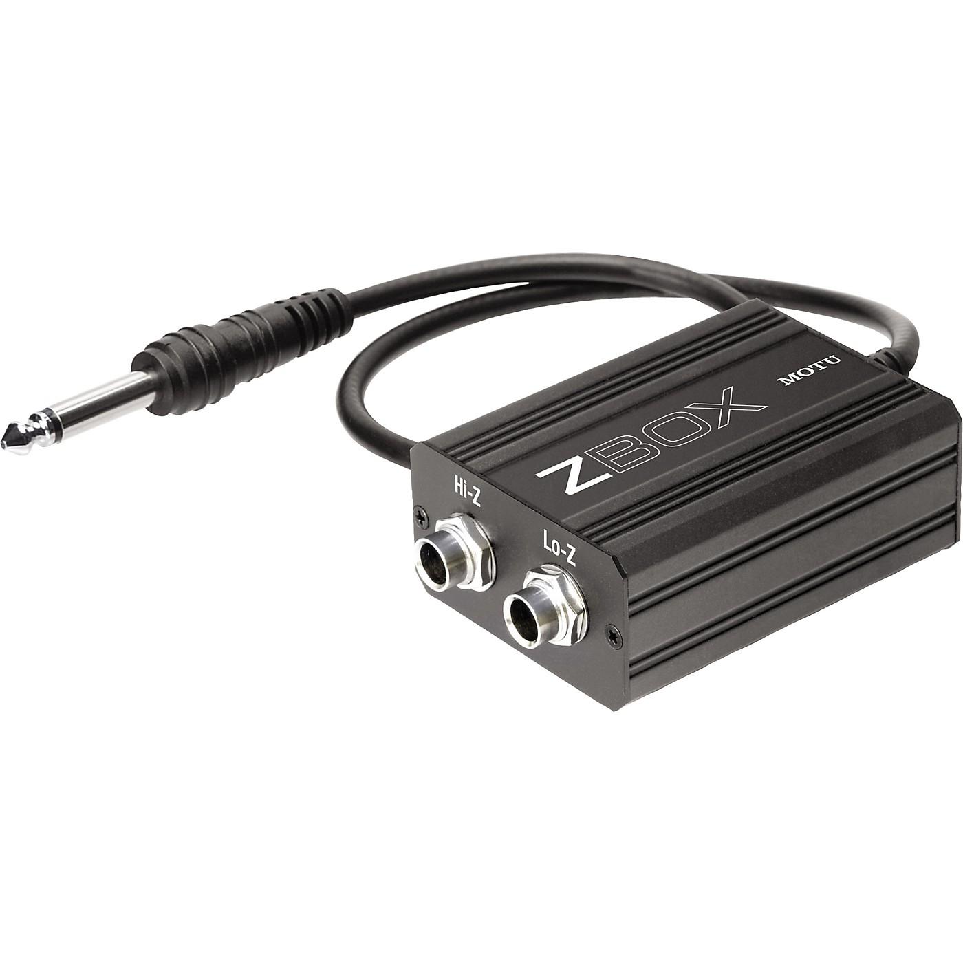 MOTU Zbox Guitar Impedence Adapter thumbnail