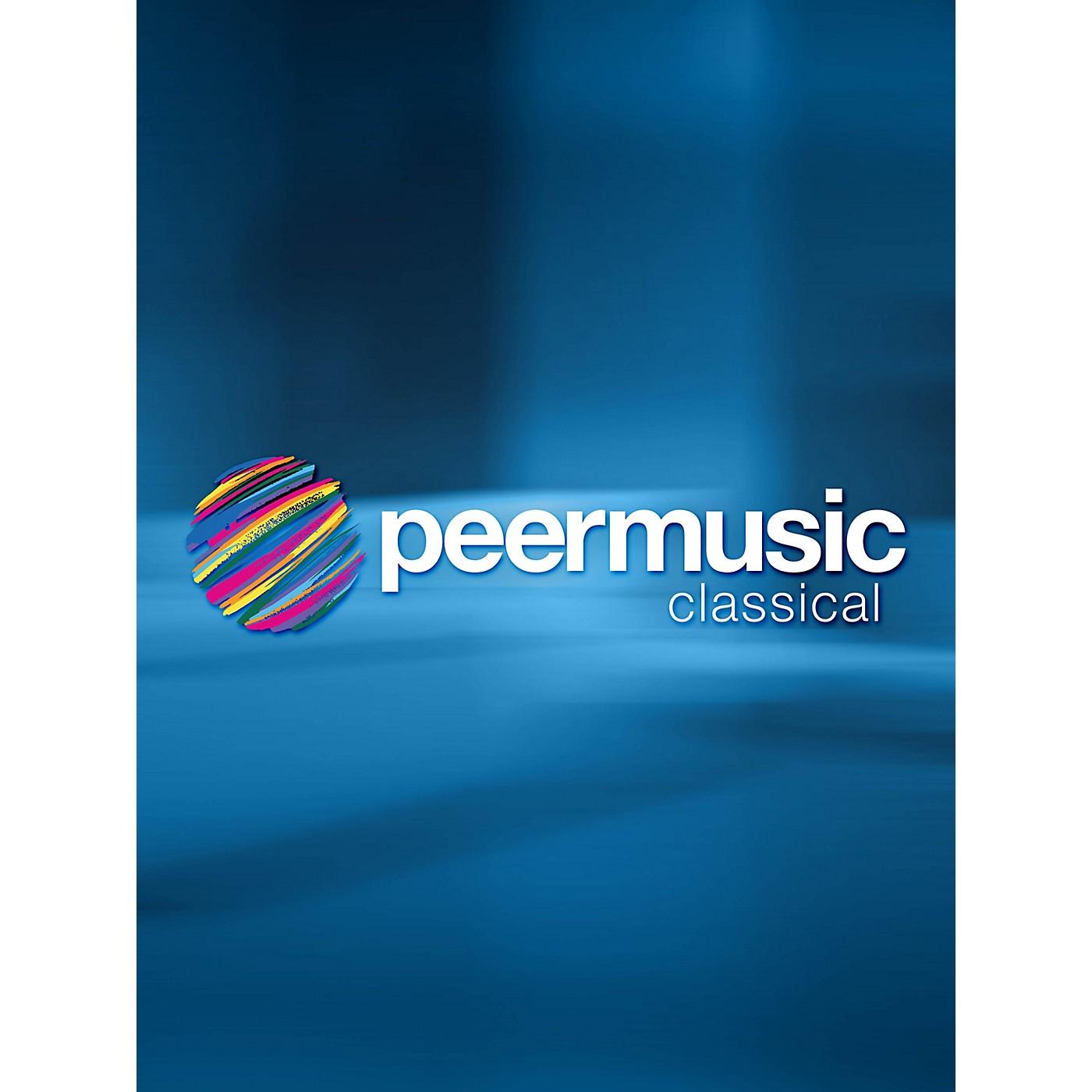 Peer Music Zeus und Elida - Chamber Opera Score Peermusic Classical Series thumbnail