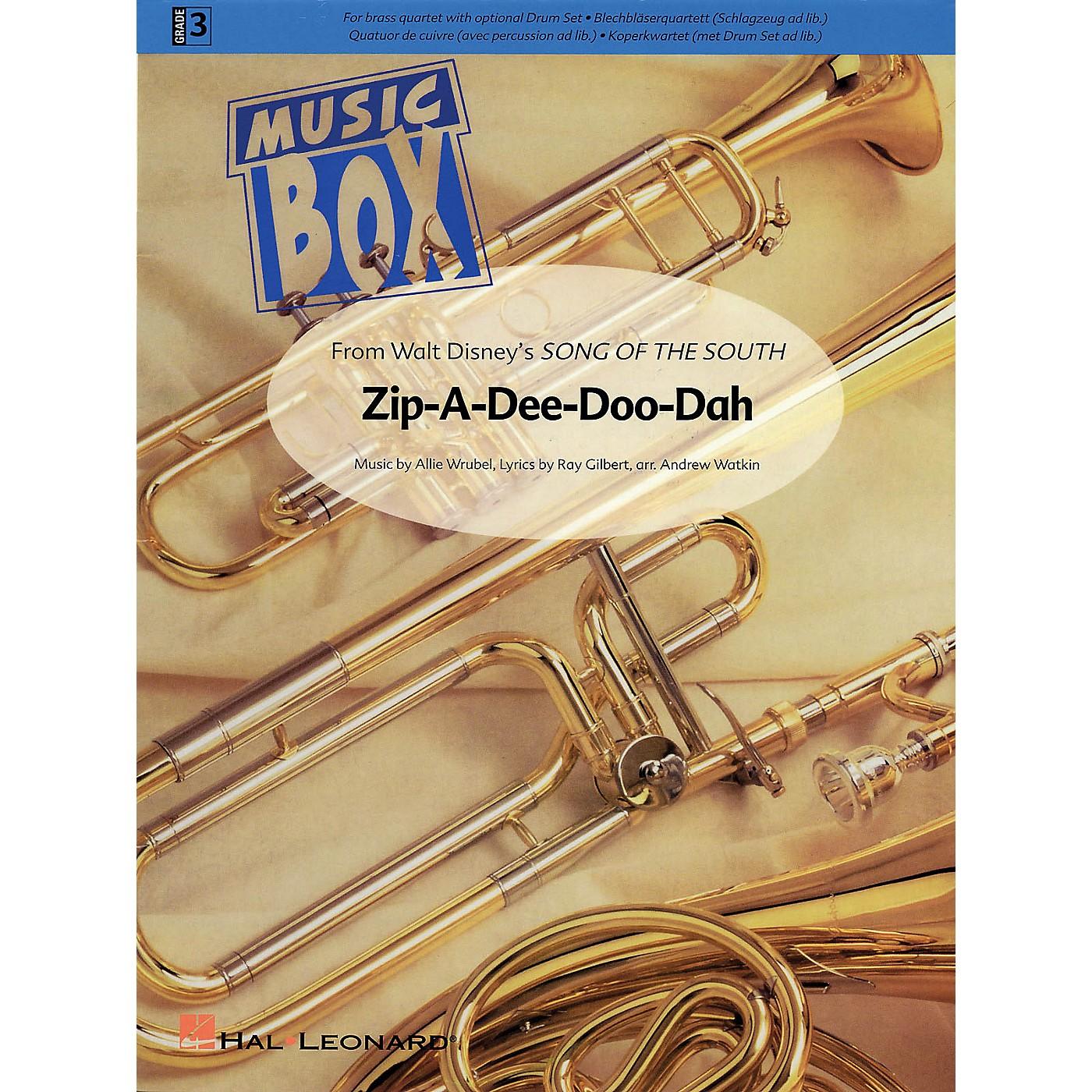 Hal Leonard Zip-A-Dee-Doo-Dah De Haske Ensemble Series Arranged by Andrew Watkin thumbnail