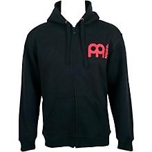 Meinl Zipper Hoodie with Skull Logo on Back