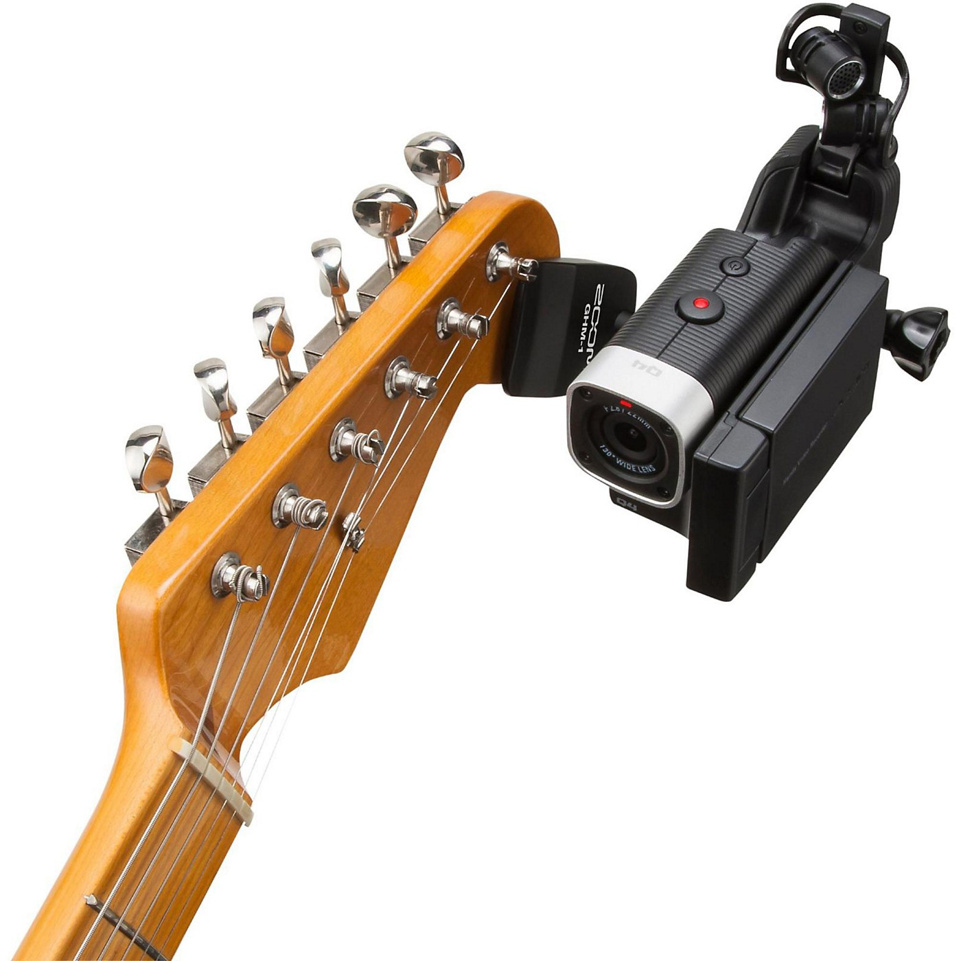 Zoom Zoom GHM-1 Guitar Headstock Mount for Action Cameras thumbnail