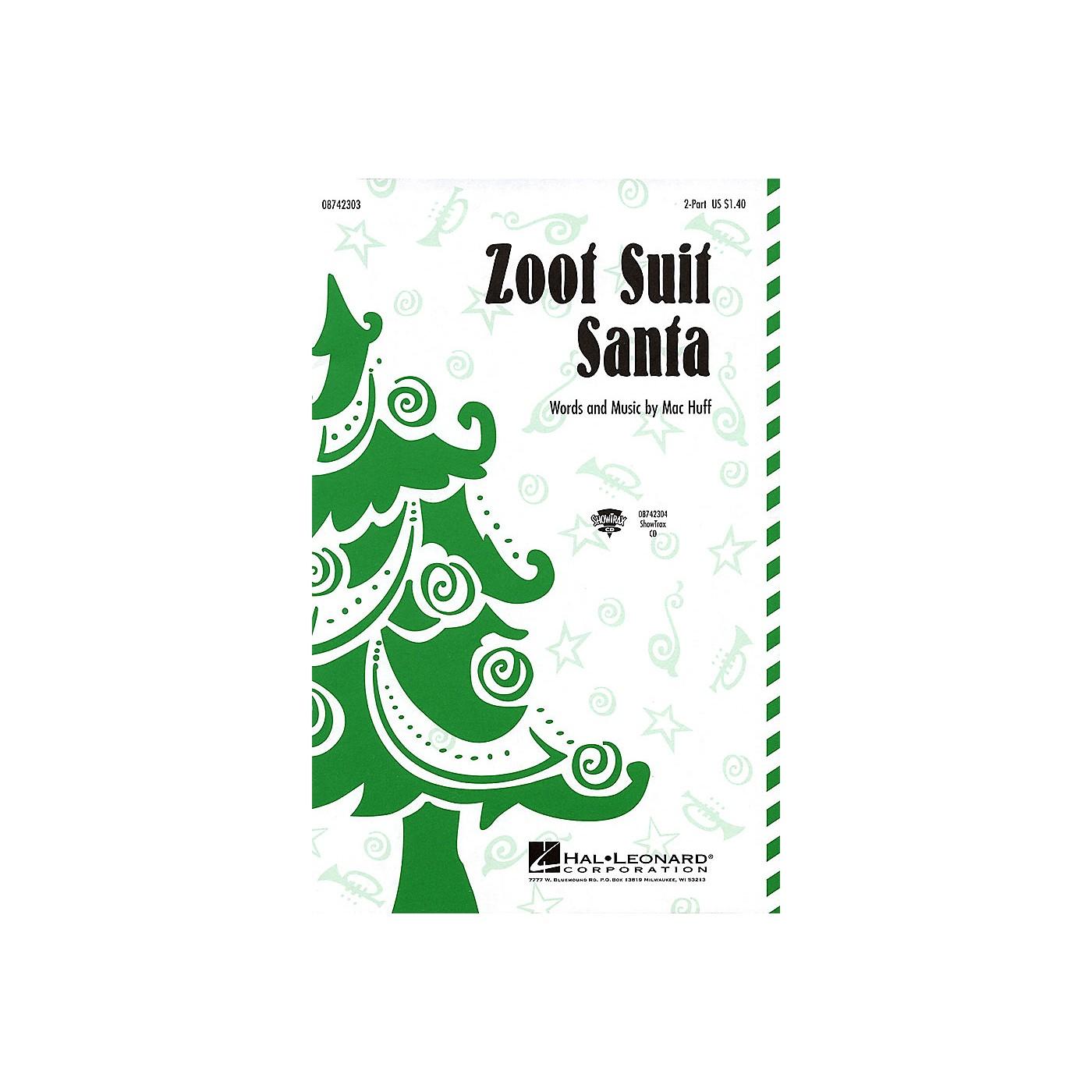 Hal Leonard Zoot Suit Santa ShowTrax CD thumbnail