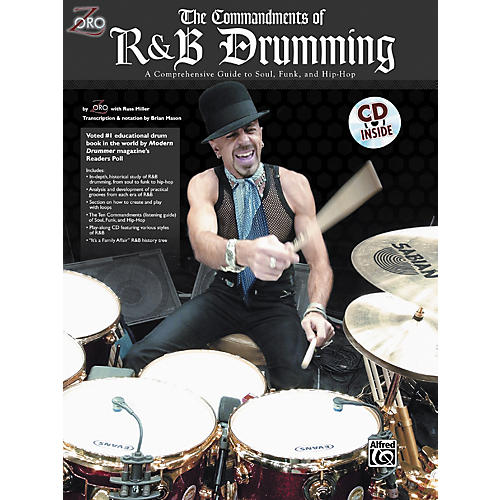 Alfred Zoro Commandments of R'n'B Drumming Book/CD-thumbnail
