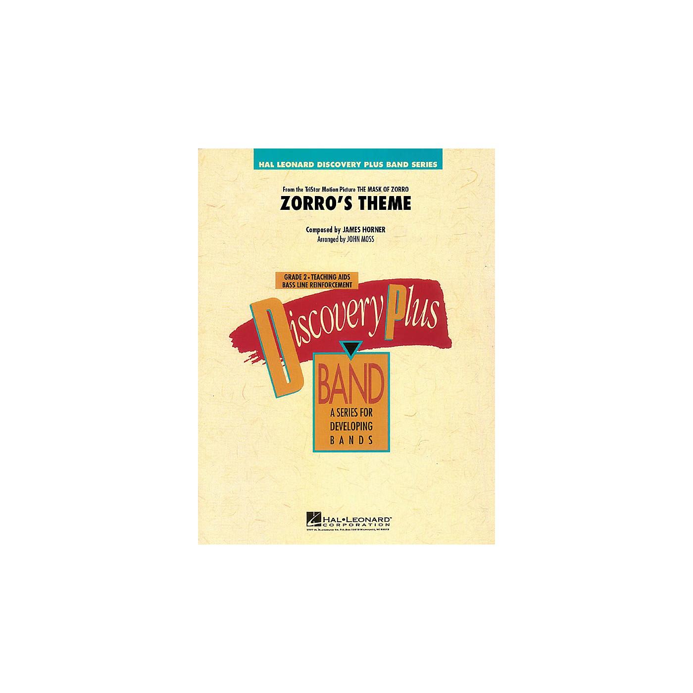 Hal Leonard Zorro's Theme - Discovery Plus Band Level 2 arranged by John Moss thumbnail