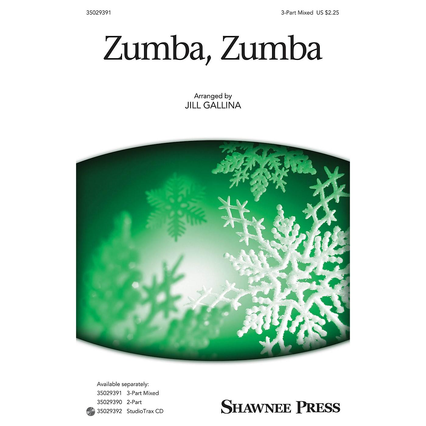 Shawnee Press Zumba, Zumba (Together We Sing Series) 3-Part Mixed arranged by Jill Gallina thumbnail