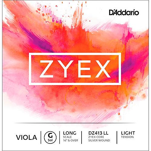 D'Addario Zyex Series Viola G String-thumbnail