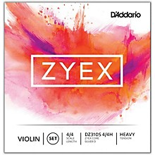 D'Addario Zyex Series Violin String Set