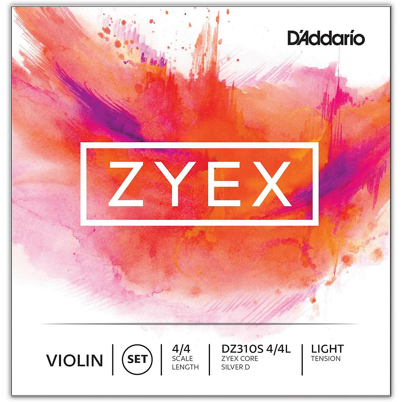 D'Addario Zyex Series Violin String Set thumbnail