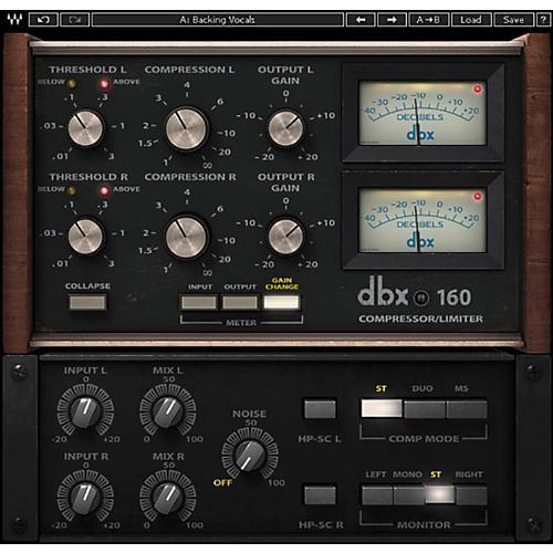Waves dbx 160 Compressor / Limiter Native/SG Software Download thumbnail