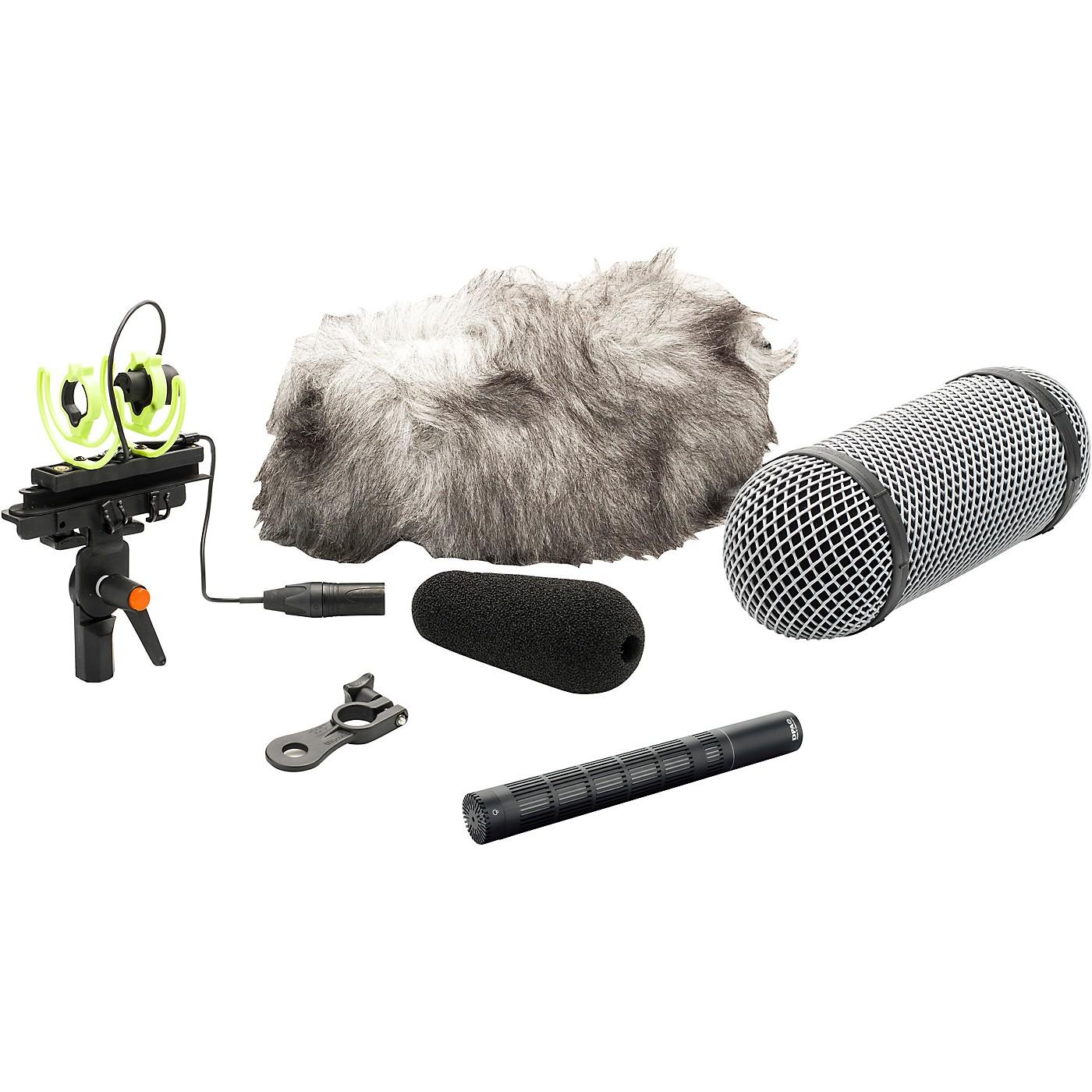 DPA Microphones d:dicate 4017C Compact Shotgun Microphone with Ryocote Windshield thumbnail