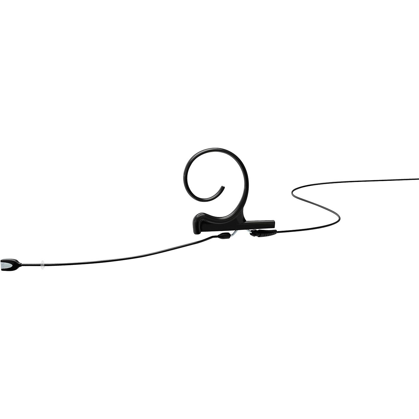 DPA Microphones d:fine Cardioid Slim capsule, headset mic., Single ear, 100mm boom, Microdot, Black thumbnail