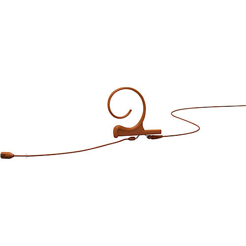 DPA Microphones d:fine FID Slim Directional Headset Microphone, Single ear, 100mm boom, Microdot connector, Brown thumbnail