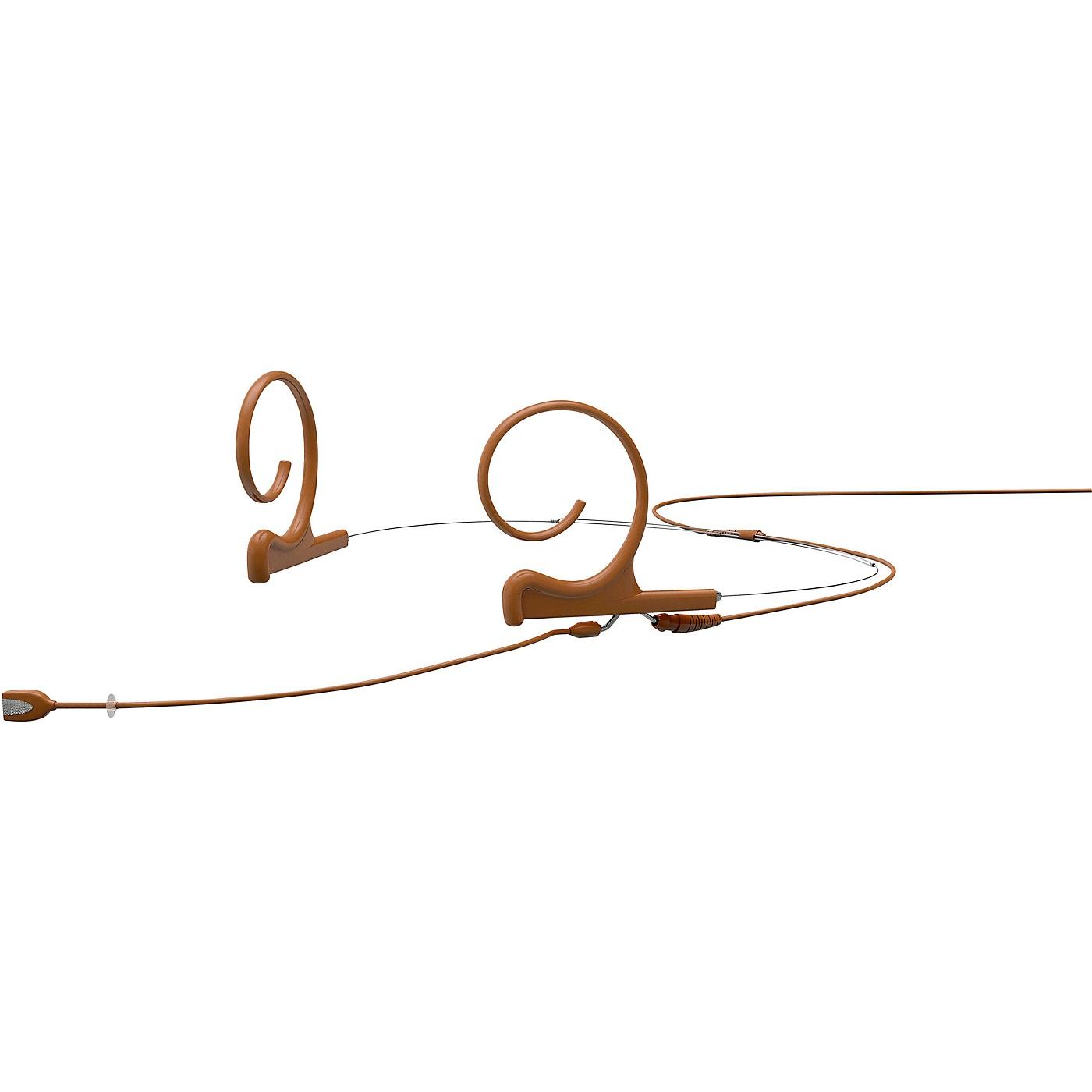 DPA Microphones d:fine FID Slim Directional Headset Microphone—Dual Ear, 100mm Boom, Brown thumbnail