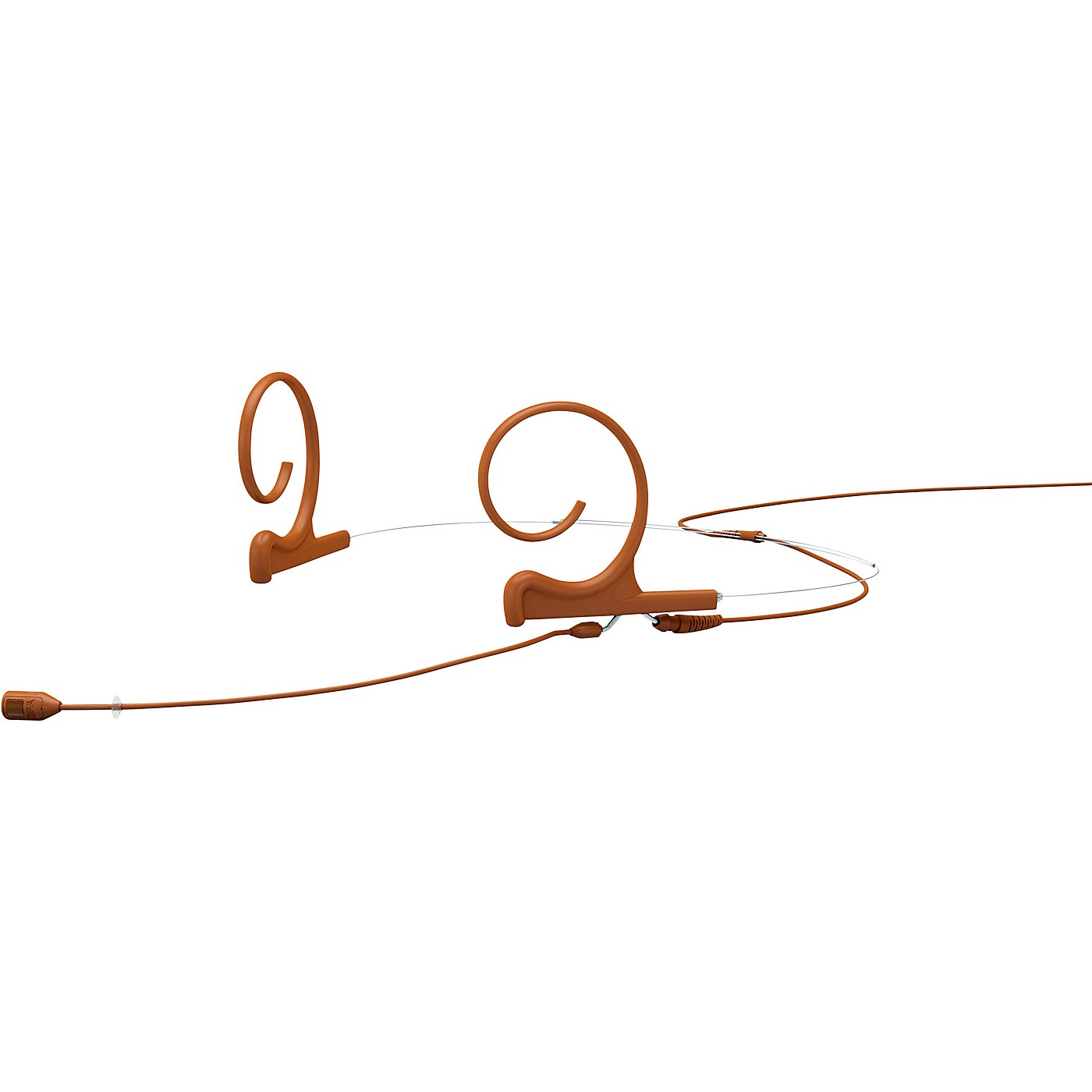 DPA Microphones d:fine FID88 Directional Headset Microphone—Dual Ear, 120mm Boom, Microdot Connector, Brown thumbnail