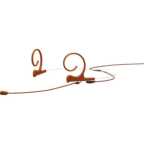 DPA Microphones d:fine FID88 capsule Directional Headset Microphone—Dual ear, 100mm boom, Brown thumbnail
