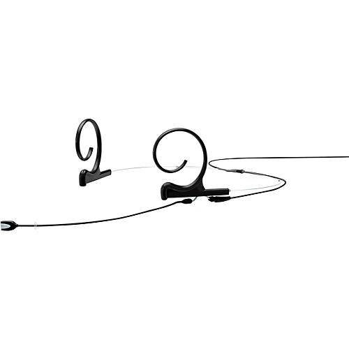 DPA Microphones d:fine FIO Slim Omnidirectional Headset Microphone—Dual Ear, 90mm Boom, Microdot Connector, Black thumbnail