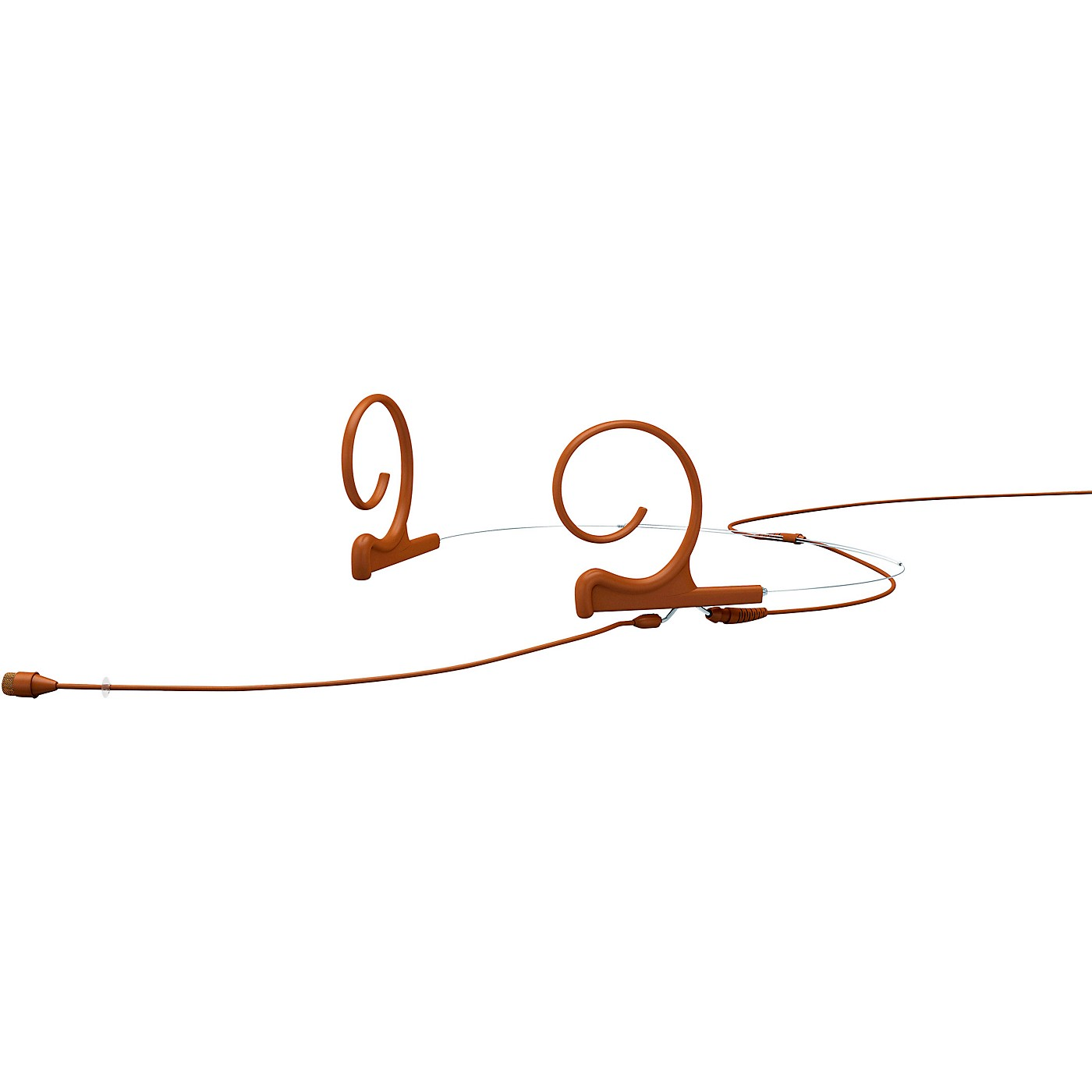 DPA Microphones d:fine FIO66 Omnidirectional Headset Microphone—Dual Ear, 110mm Boom, Brown thumbnail