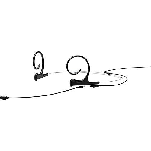 DPA Microphones d:fine FIO66 Omnidirectional Headset Microphone—Dual Ear, 90mm Boom, Hardwired TA4F, Black thumbnail