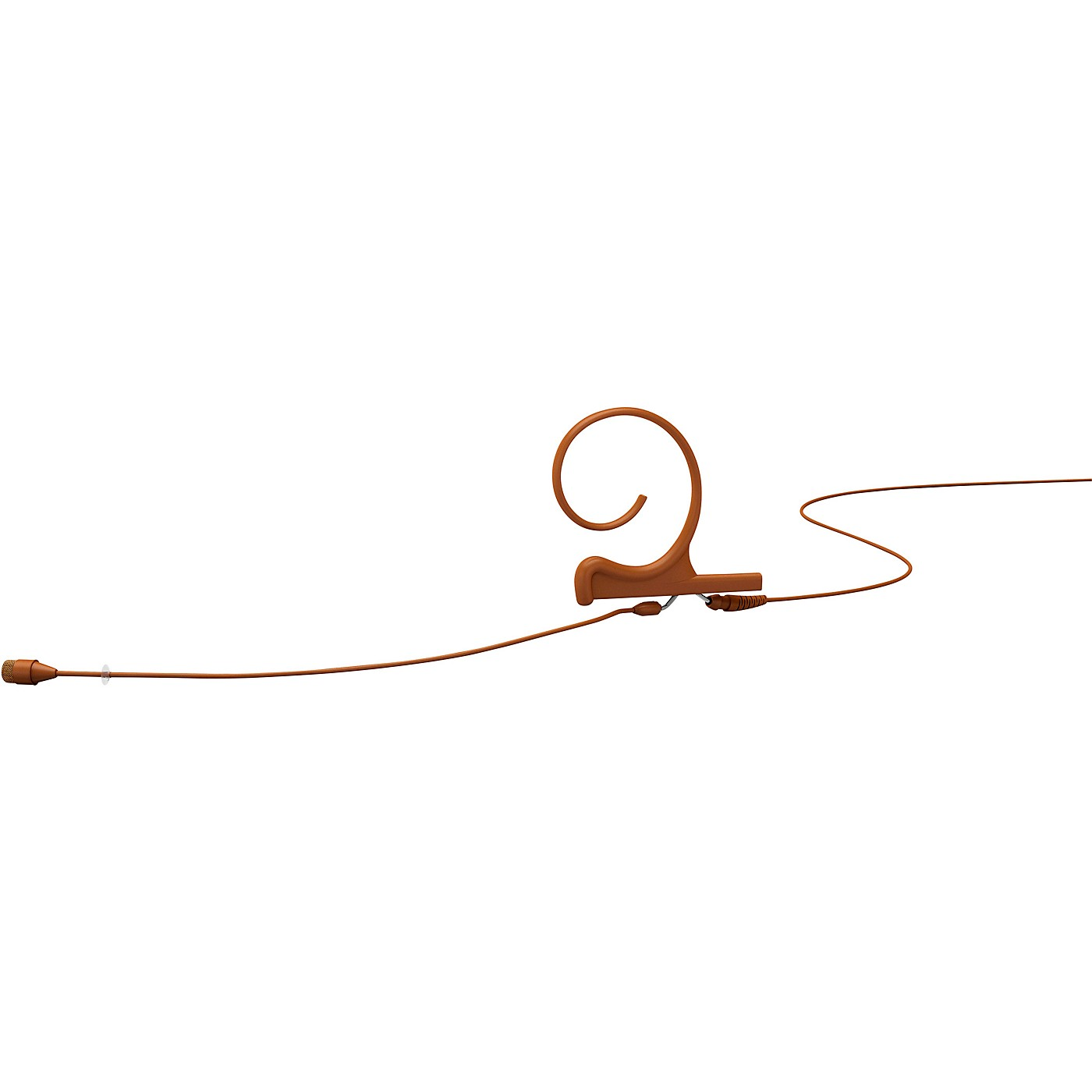 DPA Microphones d:fine FIO66 Omnidirectional Headset Microphone—Single Ear, 90mm Boom, Brown thumbnail
