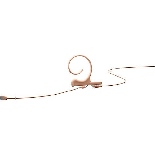 DPA Microphones d:fine Flex Directional Slim Headset Microphone—Single Ear, 100mm Boom, Hardwired 3.5mm Mini Jack, Beige thumbnail