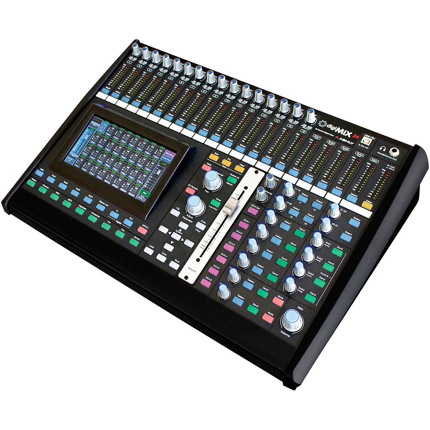 Ashly Audio digiMIX24 24-Chanel Digital Mixer thumbnail